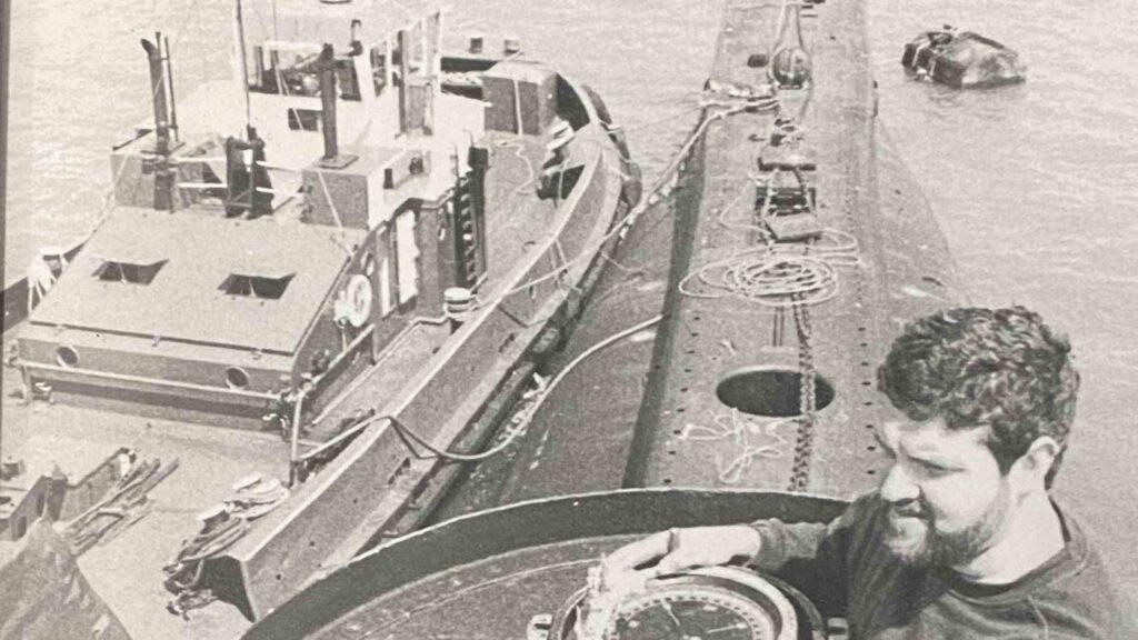 Richard Holdsworth / Photo credit: Chatham Historic Dockyard Trust